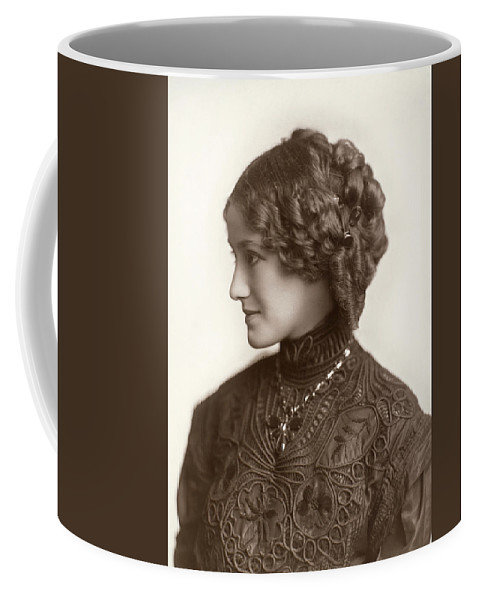 1890 Coffee Mug featuring the photograph Hairstyle, C1900 by Granger