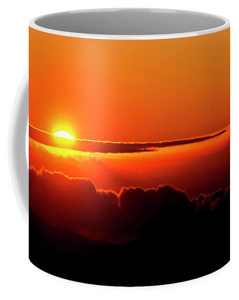 Sunrise Coffee Mug featuring the photograph Maui Hawaii Haleakala National Park Sunrise IIi by Jim Cazel