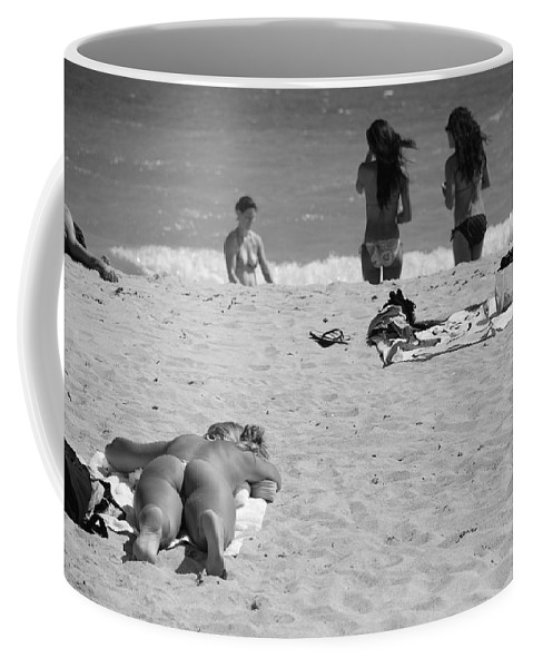 Miami Coffee Mug featuring the photograph Half Dead Half Alive by Rob Hans