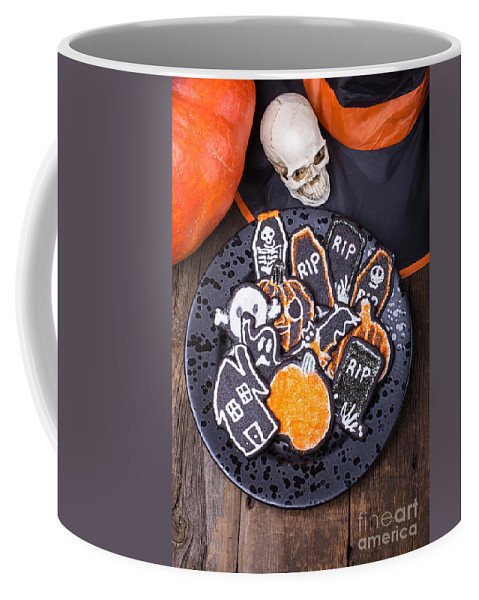 Cookie Coffee Mug featuring the photograph Halloween Cookies by Edward Fielding