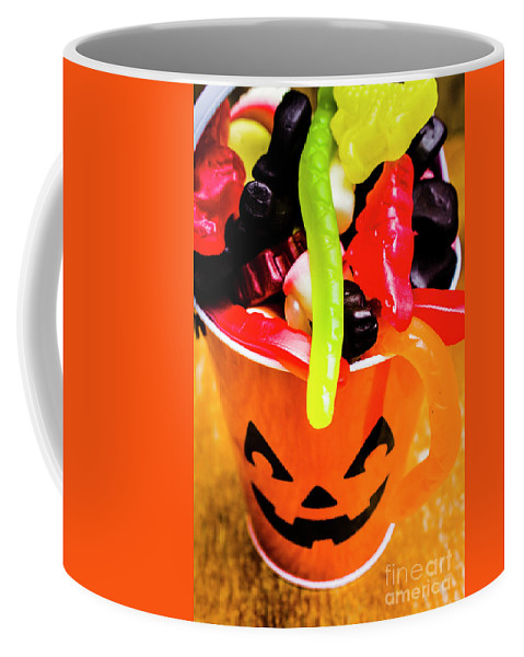 Party Coffee Mug featuring the photograph Halloween Party Details by Jorgo Photography - Wall Art Gallery