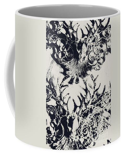 Emblem Coffee Mug featuring the photograph Halls Of Horned Art by Jorgo Photography - Wall Art Gallery