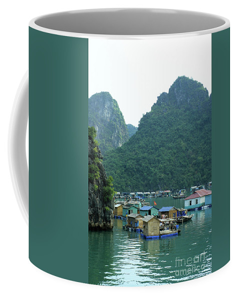Vietnam Coffee Mug featuring the photograph Halong Bay 02 by Rick Piper Photography