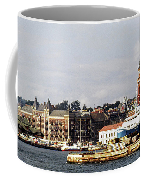 Sweden Coffee Mug featuring the photograph Halsingborg 1 by Lee Santa