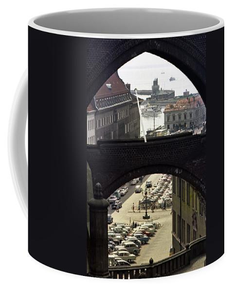 Sweden Coffee Mug featuring the photograph Halsingborg 3 by Lee Santa