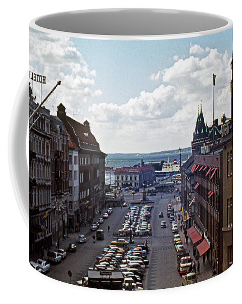 Europe Coffee Mug featuring the photograph Halsingborg Sweden 1 by Lee Santa