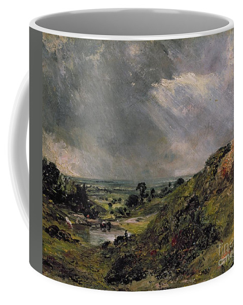 Hampstead Coffee Mug featuring the painting Hampstead Heath by John Constable