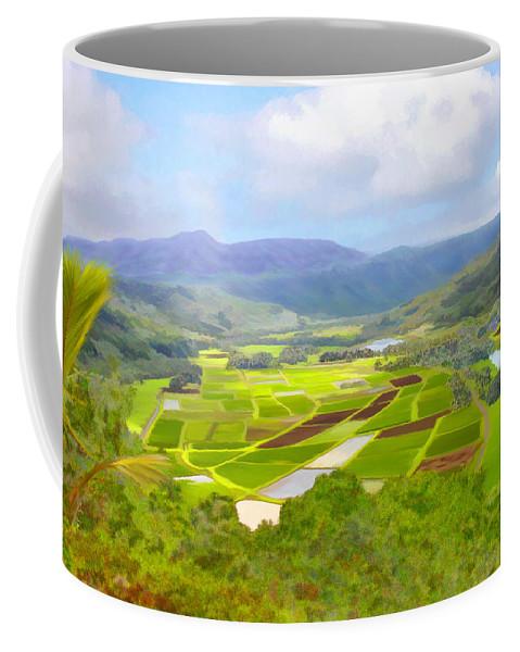 Hawaii Coffee Mug featuring the photograph Hanalai by Kurt Van Wagner
