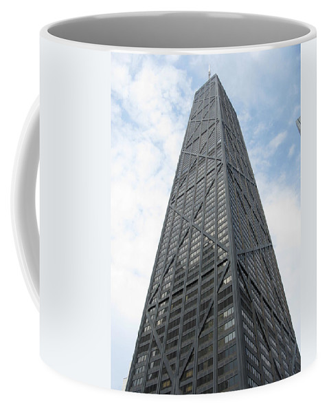 Chicago Coffee Mug featuring the photograph Hancock Building by Brittany Horton