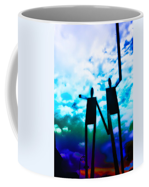 Philadelphia Coffee Mug featuring the photograph Hand In Hand by Bill Cannon