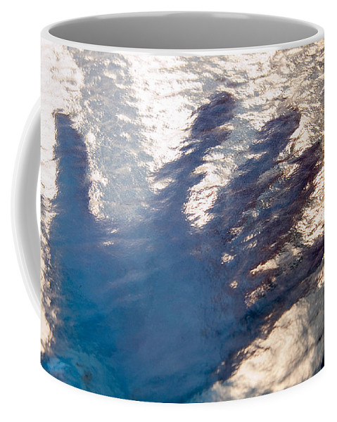 Clay Coffee Mug featuring the photograph Hand Out by Clayton Bruster