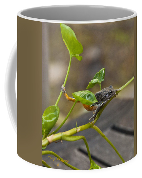 Hangin' Out Coffee Mug featuring the photograph Hangin' Out by Terry Anderson