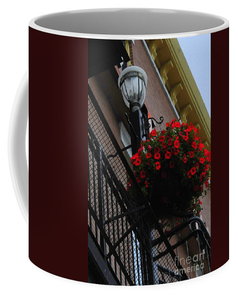 Hanging Coffee Mug featuring the photograph Hanging Basket by Kathleen Struckle