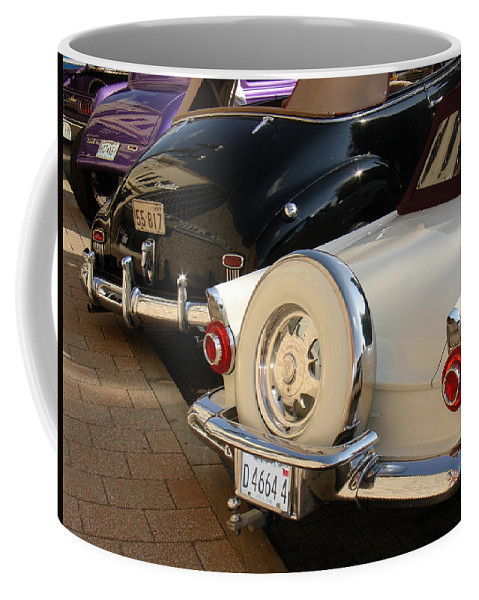 Classic Cars Coffee Mug featuring the photograph Hanging Out by Steve Karol