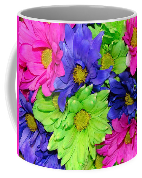 Flowers Coffee Mug featuring the photograph Happiness by J R  Seymour