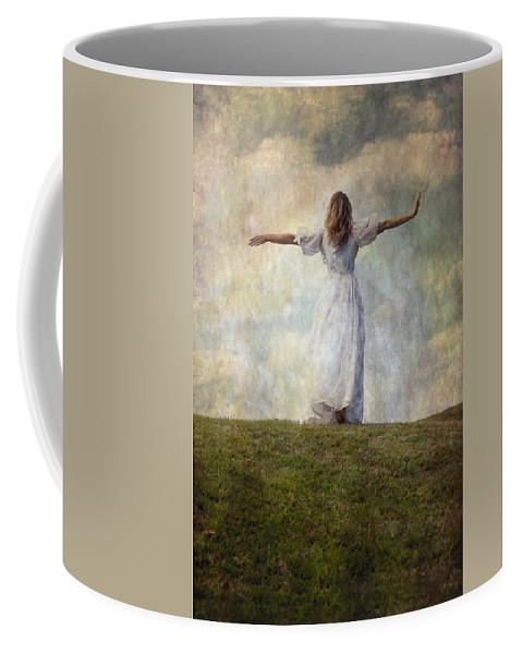 Female Coffee Mug featuring the photograph Happiness by Joana Kruse