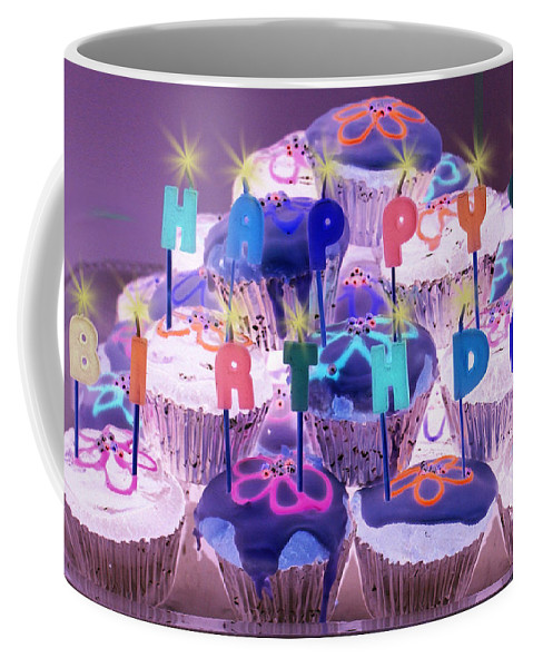 Still Life Coffee Mug featuring the photograph Happy Birthday by Holly Kempe