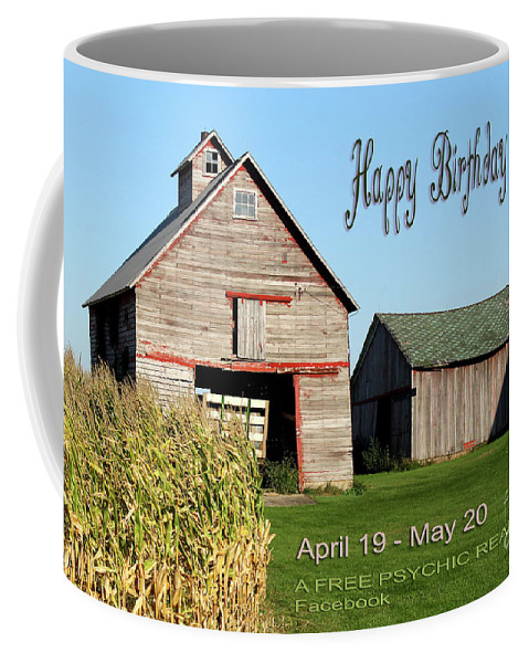 Astrology Coffee Mug featuring the photograph Happy Birthday Taurus by Beauty For God