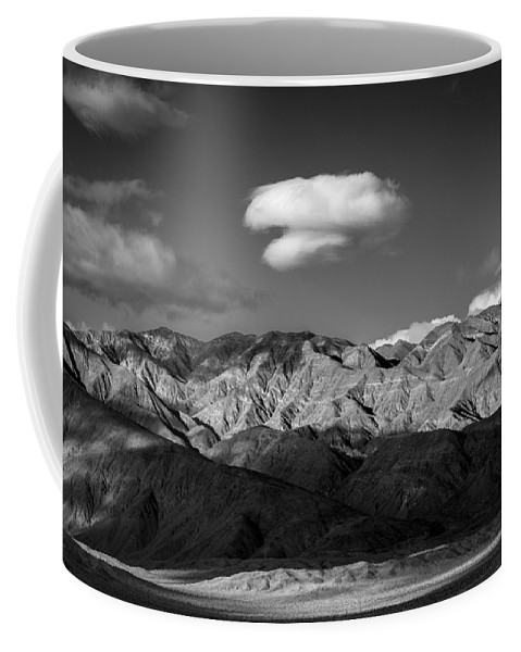 Anza-borrego Desert Coffee Mug featuring the photograph Happy Cloud by Peter Tellone