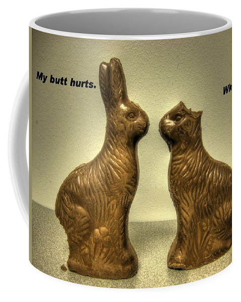 Easter Card Coffee Mug featuring the photograph Happy Easter Card by Jane Linders