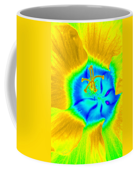 Flower Coffee Mug featuring the photograph Happy Flower by Tina Meador