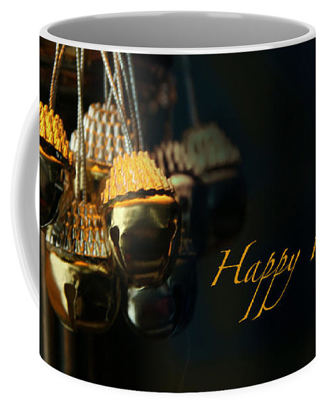 Jingle Bells Coffee Mug featuring the photograph Happy Holidays by Yvonne Wright
