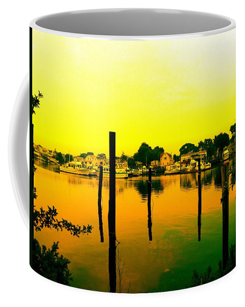 Waterscape Coffee Mug featuring the photograph Happy Homes by Kendall Eutemey