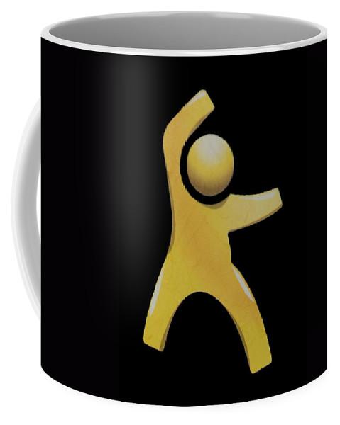 Man Coffee Mug featuring the photograph Happy Man by Rob Hans