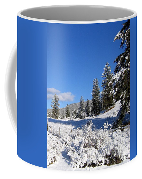 Trails Coffee Mug featuring the photograph Happy Trails by Will Borden