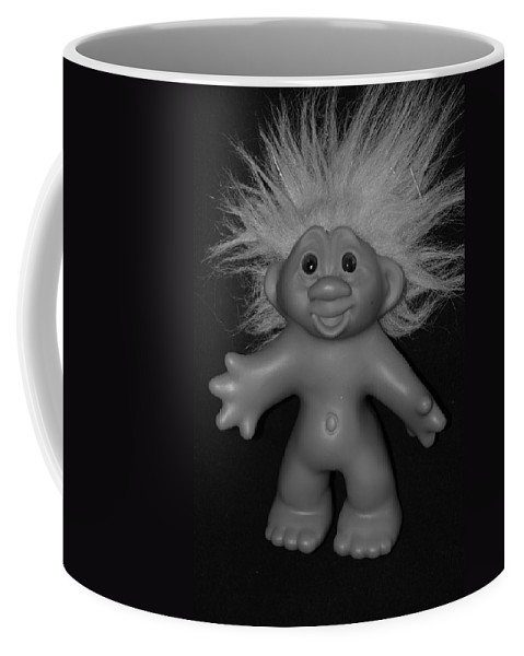 Happy Coffee Mug featuring the photograph Happy Troll by Rob Hans