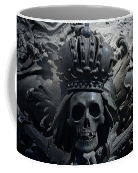 Hapsburg Tomb Mortuary Dead Burial Vienna Austria Coffee Mug featuring the photograph Hapsburg Tombs Vienna Austria by Thomas Marchessault