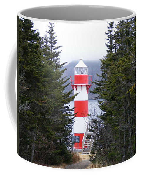 Lighthouse Coffee Mug featuring the photograph Harbor Breton Lighthouse by Barbara Griffin