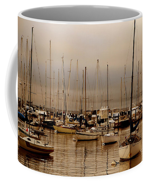 Water Coffee Mug featuring the photograph Calm Before The Storm by David Ross