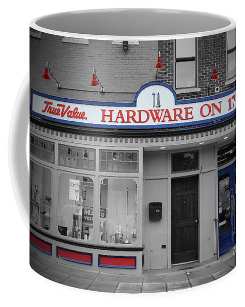 True Coffee Mug featuring the photograph Hardware On Seventeenth by Jost Houk