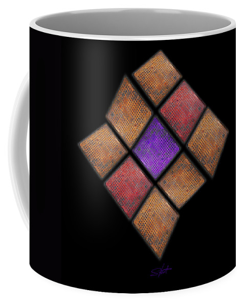 Harlequin Coffee Mug featuring the photograph Harlequin by Charles Stuart
