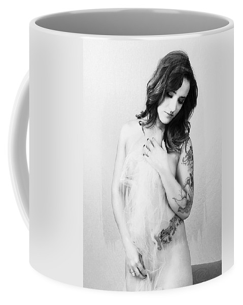 Female Model Coffee Mug featuring the photograph Harley's Dream by Steve White