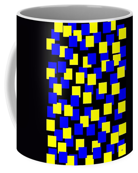 Abstract Coffee Mug featuring the digital art Harmony 1 by Will Borden