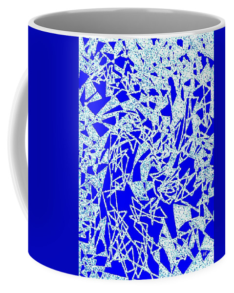 Abstract Coffee Mug featuring the digital art Harmony 10 by Will Borden