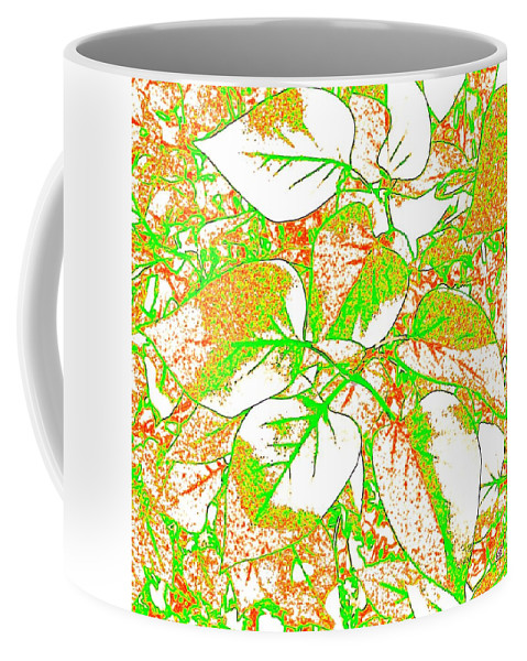 Abstract Coffee Mug featuring the digital art Harmony 11 by Will Borden