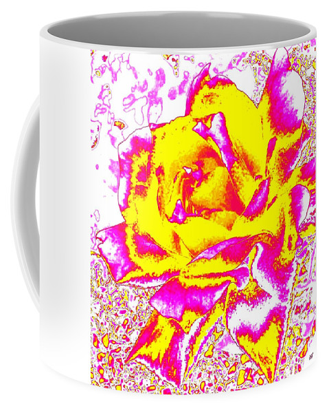 Abstract Coffee Mug featuring the digital art Harmony 12 by Will Borden