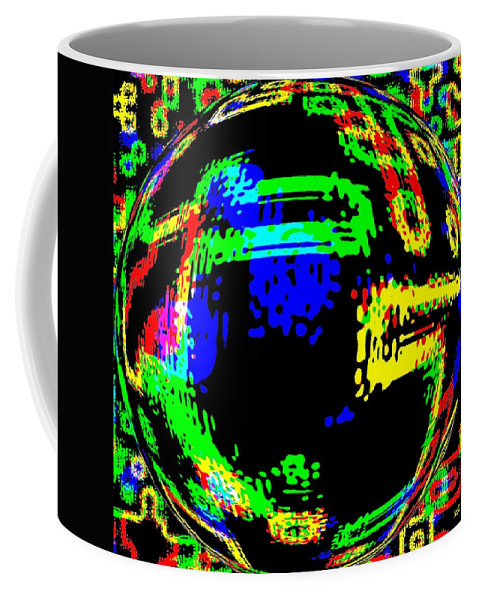 Abstract Coffee Mug featuring the digital art Harmony 13 by Will Borden