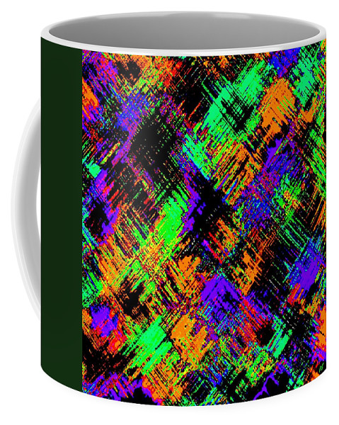 Abstract Coffee Mug featuring the digital art Harmony 15 by Will Borden