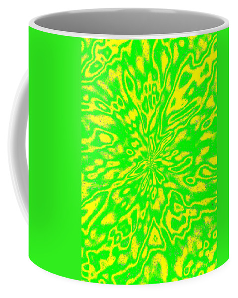 Abstract Coffee Mug featuring the digital art Harmony 16 by Will Borden