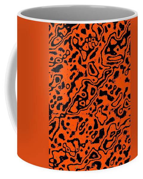 Abstract Coffee Mug featuring the digital art Harmony 17 by Will Borden