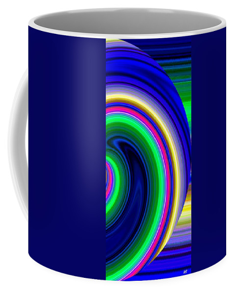 Abstract Coffee Mug featuring the digital art Harmony 19 by Will Borden