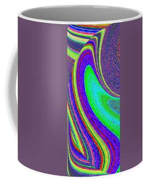 Abstract Coffee Mug featuring the digital art Harmony 21 by Will Borden