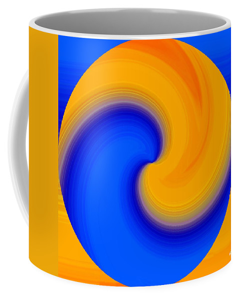 Abstract Coffee Mug featuring the digital art Harmony 23 by Will Borden