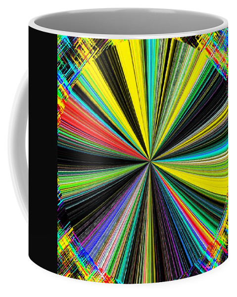 Abstract Coffee Mug featuring the digital art Harmony 28 by Will Borden