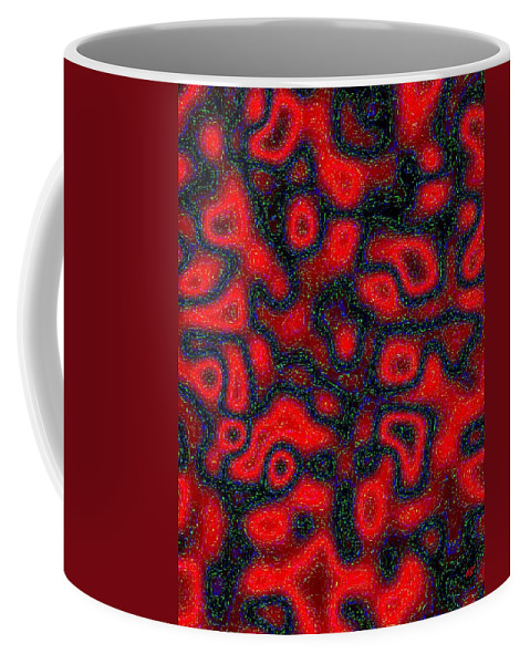 Abstract Coffee Mug featuring the digital art Harmony 30 by Will Borden