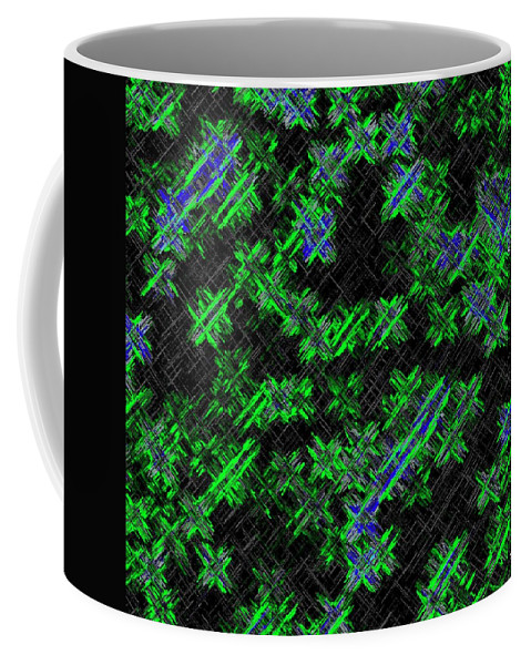 Abstract Coffee Mug featuring the digital art Harmony 33 by Will Borden